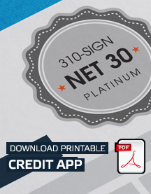 Download Net 30 Credit Application